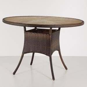Siena garden tisch basel 110 cm mit for Amazon tisch
