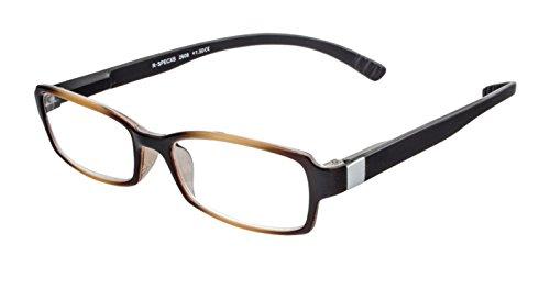 Lesebrille zum Umhängen – Lesehilfe mit extra langen Bügeln in verschiedenen Farben und Stärken (havana, +1,50 dpt) (Bügel Für Brillen)