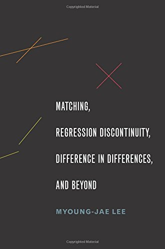 Matching, Regression Discontinuity, Difference in Differences, and Beyond por Myoung-jae Lee