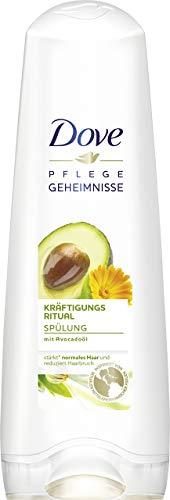 Dove Pflegegeheimnisse Kräftigungs Ritual Haarpflege Spülung, (200 ml)