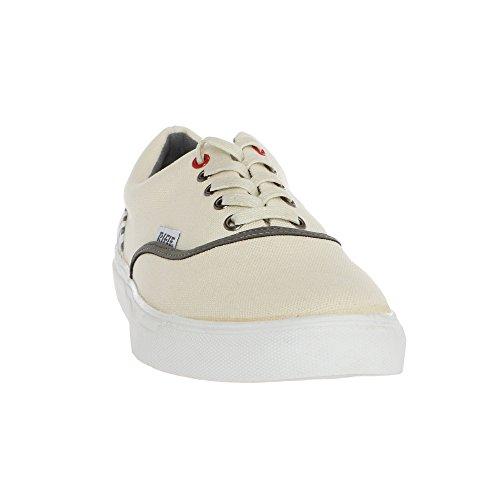 RIFLE Sneakers da Uomo, scarpa stringata in tela 161M11437 SONNY Bianco - Grigio Chiaro