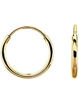 iJEWELRY2 kontinuierliche Endless, rund, 14 Karat Gelbgold, 12 mm