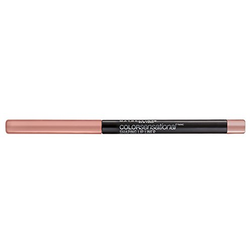 Maybelline New York Color Sensational Lippenkonturenstift Shaping Lip Liner Nr. 10 Nude Whisper, 1er Pack (1 x 1 Stück)