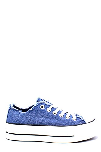 Converse Ctas Clean Lift Ox Platform Scarpe Sportive Donna Jeans Glitterate