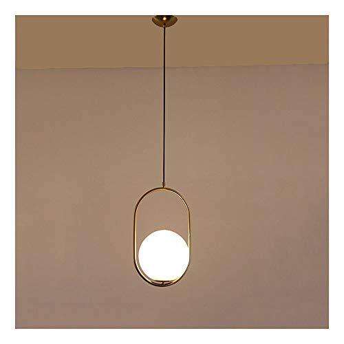 PANGU ZC Lampada da soffitto Moderna Minimalista Creativo Vetro Palla lampadario Ristorante Abbigliamento Camera da Letto Soggiorno Luce del Pendente