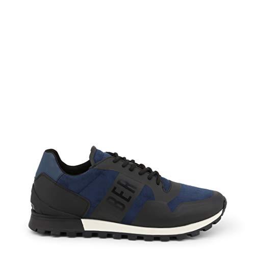 Bikkembergs Herren Fend-ER 1944 Sneaker Blau (Black/Blue 270) 40 EU