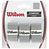Wilson Pro Tennis Racquet Over Grip, Pack of 3