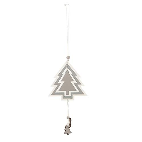 314apch4xnL. SS500  - Y56 Christmas Wooden Four-Layer Hollow Pendant Creative Cute Hanging Pendant