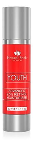 PREMIUM 2.5% Retinol Moisturizer - Youth Face Cream - Clinical