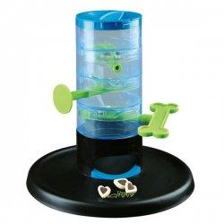 Trixie Kunststoff Hunde Spielspaß Hund Spielzeug Dog Activity Strategie-Spiel Tricky Tower Dog Activity Gambling Tower Ø 27 × 28 cm 1PACK