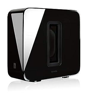 Sonos Sub, schwarz - Leistungsstarker WLAN Subwoofer für dynamische & tiefe Bässe für alle Sonos Speaker - Eleganter Multiroom Subwoofer für erstklassigen Sound (B01J373EQW) | Amazon Products