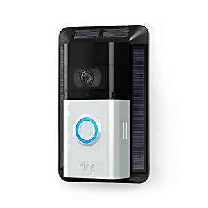 Caricatore a energia solare per Ring Video Doorbell 3 e Ring Video Doorbell 3 Plus
