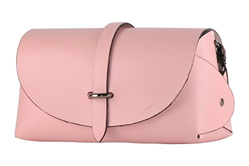 Borderline - 100% Made In Italy - Pochette Echtes Leder - Evelina G. Rosa