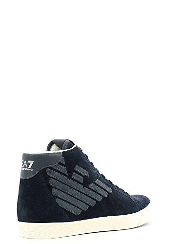 basket EA7 278039 CC299 noire Bleu