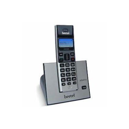 Beetel X62 Cordless Phone (Black/Silver)