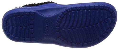 Crocs Colorlite Lined Clog Unisex, Sabots mixte adulte Bleu (Cerulean Blue/Black)
