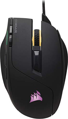 Corsair SABRE RGB Optisch Gaming Maus (RGB-LED-Hintergrundbeleuchtung, 10000 DPI) schwarz -