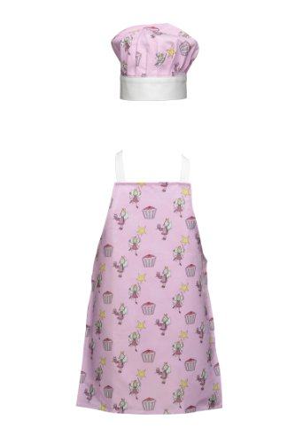 Premier Housewares Cupcake Fairy Set grembiule e cappello da chef per  bambini def322e6a272