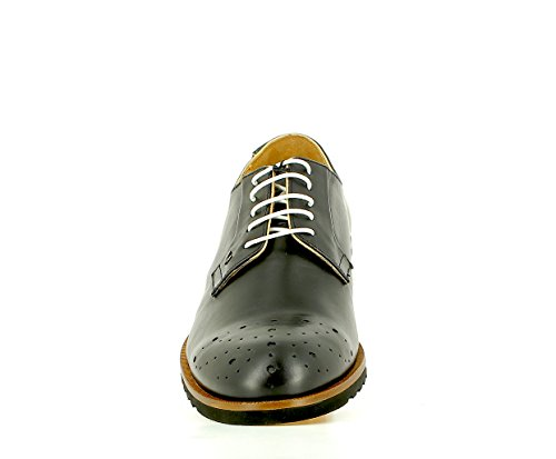 Martinelli Black Shoe 1351-0358pym Cuir Noir