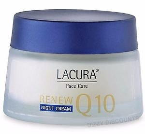 Lacura anti-wrinkle Coenzyme Q10 Night Cream With Retinol FOR ALL SKIN TYPES BY NIGHT Q10