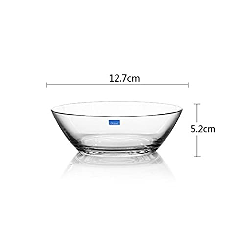 Fruit bowl glass Transparent Cold bowl Dessert bowl fruit salad