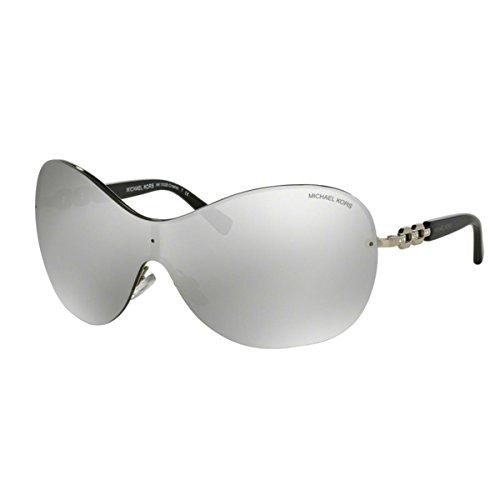 Michael Kors Damen Sonnenbrille Croatia MK1002B, (Silber verspiegelt 10016G), Small (Herstellergröße: 40)