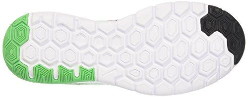 Nike Flex Experience Rn 6, Scarpe Running Uomo Multicolore (Black/electro Green-wolf Grey White)