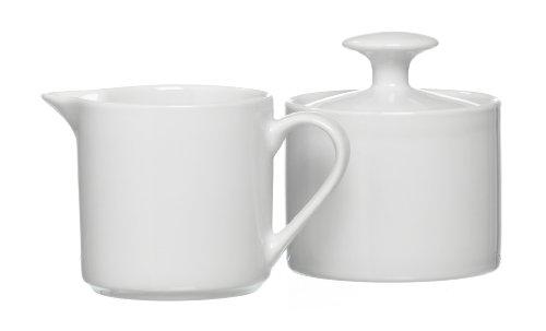 Ritzenhoff & Breker 097283 - Azucarero y jarrita para la leche, color blanco