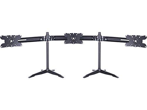 MULTIBRACKETS MV Triple Arm Stand Large 3xMonitor 61-81cm 24-32 Zoll schwenkbar neigbar rotierbar konkav moeglich