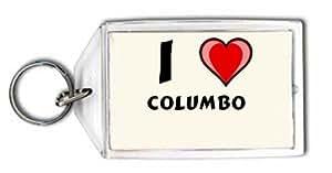 I love Columbo Keychain