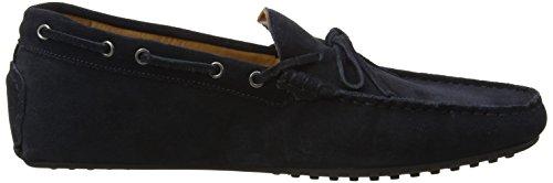 Hackett London Hickleton Suede Ii, Chaussures de Running Homme Bleu (Navy)