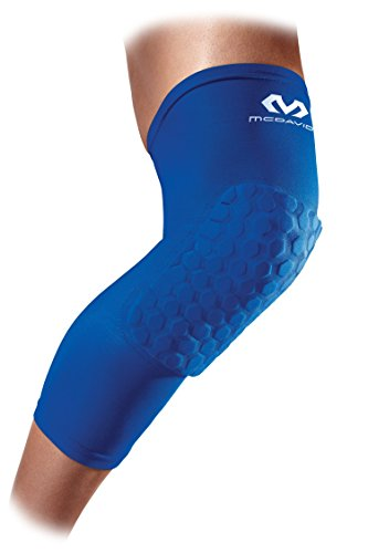 Mc David Compression Leg Sleeves with Knee Pads for Men and Women - In several colors - Designed for playing basketball