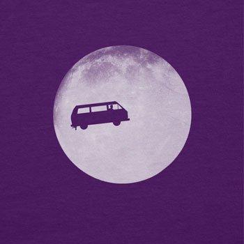 TEXLAB - Full Moon Bulli T3 - Damen T-Shirt Violett