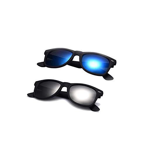 Sport-Sonnenbrillen, Vintage Sonnenbrillen, Fashion Sunglasses Men Polarized Sunglasses Men Driving Mirrors Coating Points Black Frame Eyewear Male Sun Glasses UV400 C6-C3