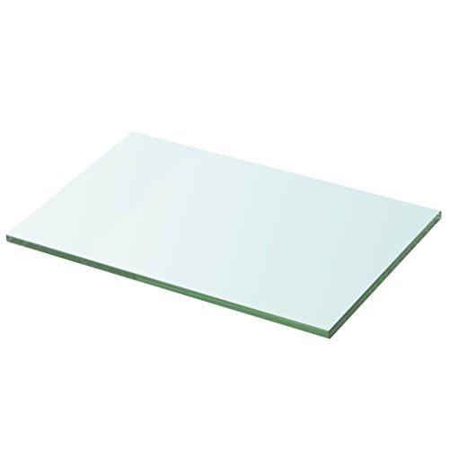 Tidyard lastra in vetro trasparente 20x15 cm / 20 x 25 cm / 30 x 20 cm / 40 x 15 cm / 100 x 15 cm