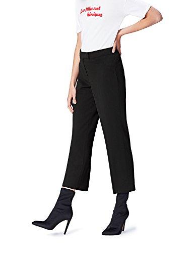 find. Pantalone Dritto alla Caviglia Donna , Nero (Black), 48 (Taglia Produttore: X-Large)
