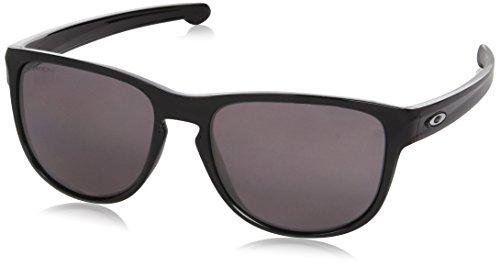 Oakley Unisex-Erwachsene Sonnenbrille SLIVER R Schwarz (Negro Brillo), 0