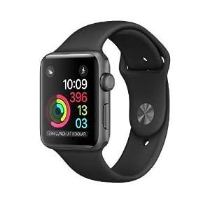 Apple Watch Series 1 OLED Gris reloj inteligente - Relojes inteligentes (OLED, Pantalla táctil, Wifi, 18 h, 30 g, Gris)