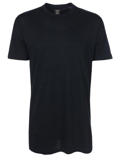 Ralph Lauren Herren T-Shirts mit Rundhalsausschnitt - Unterwäsche - 3er-Pack - Schwarz Schwarz