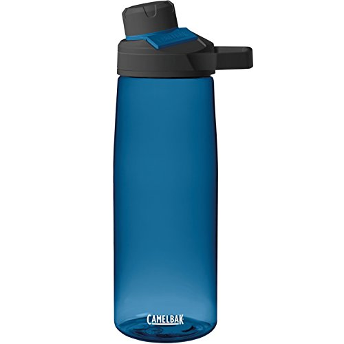 Camelbak Trinkflasche Chute Mag Magnet Verschluss Wasser Flasche Dicht 750ml Kohlensäurefest, 1512, Farbe Blau -