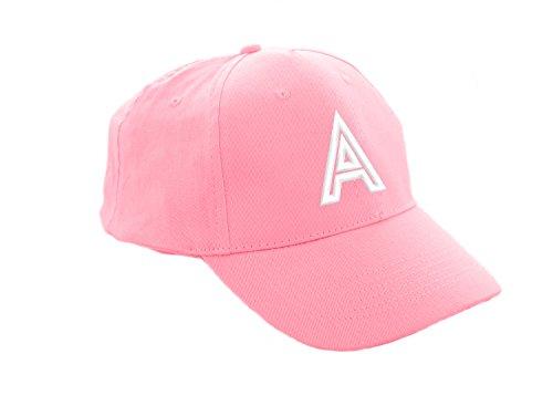 Unisex Jungen Mädchen Mütze Baseball Cap Rosa Marineblau Hut Kinder Kappe Alphabet A-Z Morefaz TM (A) (Snapback Lakers Hut)