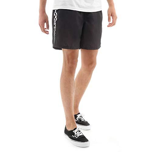 Vans V Panel Volley Shorts Herren Schwarz XL (X-Large) - Vans Shorts Schwarz