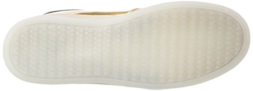 wize & ope Unisex-Erwachsene Led-Gold Low-Top Gold (Gold)