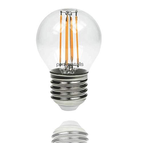 Paul Russels Lot de 24W = 40W Golf LED Ampoules à filament E27ES Culot à vis 4W Petit...