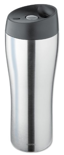 Isosteel 2063866 Bouteille Isotherme Inox Argent 20,5 x 8,1 x 8,1 cm