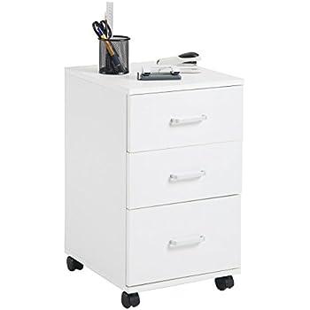 Büroschrank weiß schubladen  Rollcontainer SATURN Aktenschrank Bürocontainer mit 3 Schubladen ...