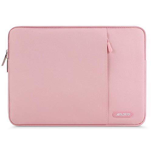MOSISO Hülle Kompatibel iPad Air 3 10,5 2019, iPad Pro 9,7-11 Zoll, Surface Go 2018, iPad Air 2/Air (iPad 6/5), iPad 1/2/3/4 Wasserabweisende Polyester Vertikale Laptoptasche, Rosa - 9 Fire Hd Kindle Fall