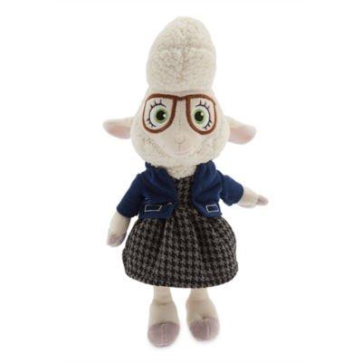Disney autenticidad Zootropolis Alcalde Auxiliar Bellwether muñeca de juguete de felpa suave