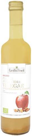 Earth`S Finest Earth's Organic Apple Cider Vinegar with Cinnamon & Turmeric
