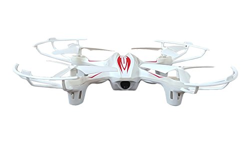 Toyshine 2.4 Ghz Remote Control Drone, 6 CH 6-Axis Quadcopter, One Key Return, Headless Mode, R/C Drone, White